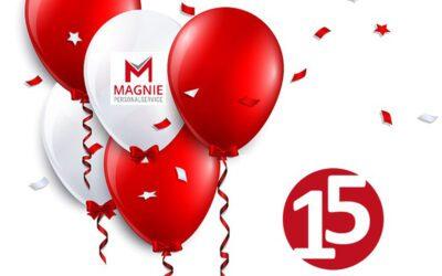 15 Jahre Magnie Personalservice e. K.